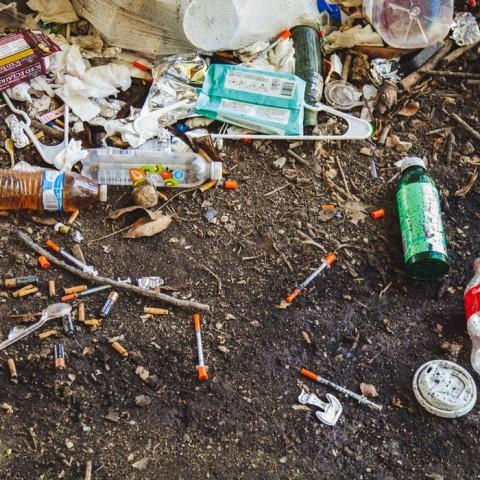 Drugsafval: Opgeruimd staat netjes?