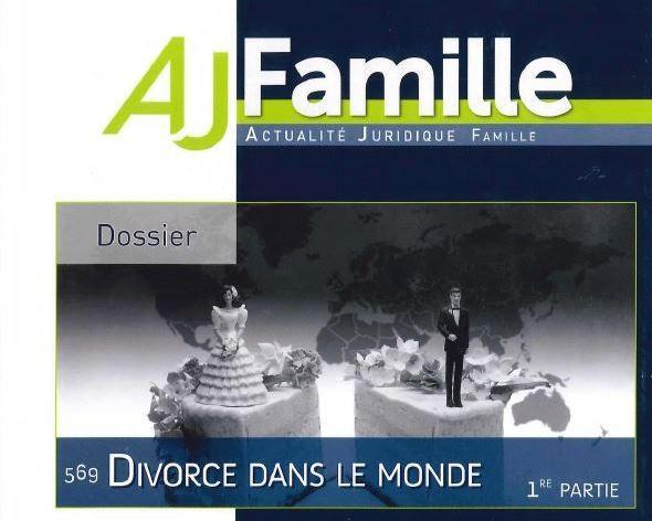 Divorce dans le Monde